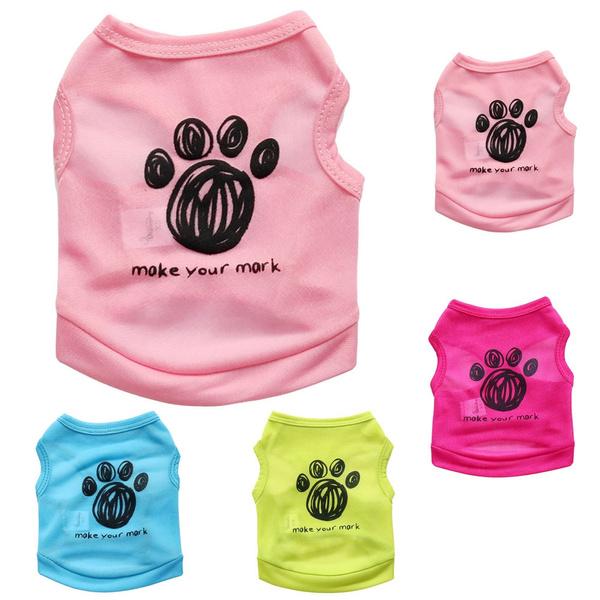 Fashion, Pet Dog Clothes, small pet clothes, Vest