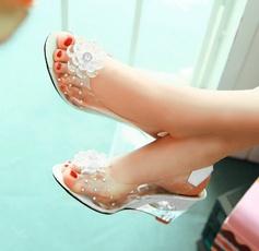 Sandalias, Womens Shoes, Peep Toe, fishmouth