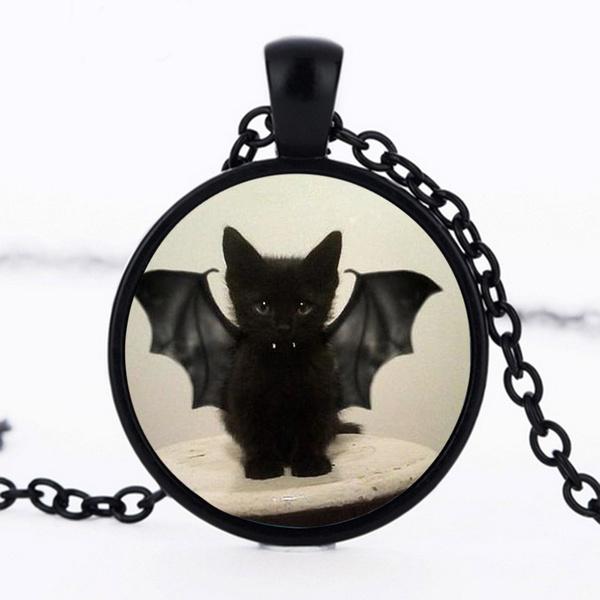 cute, black, Jewelry, Vampire