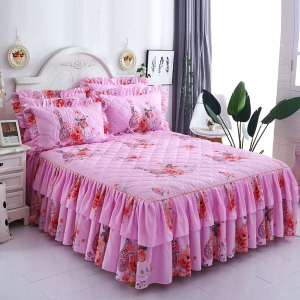 ruffle, Romantic, Bedding, matte