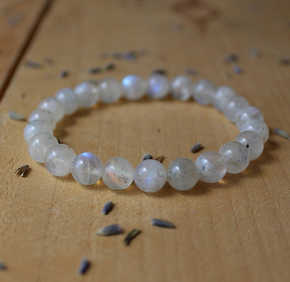 Beaded Bracelets, leatherbraidbluebracelet, Yoga, Jewelry