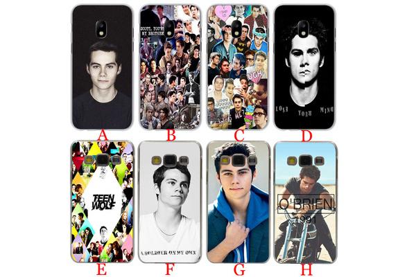 A59 Dylan O'Brien Teen Wolf cool Hard Phone Coque Shell Case for Samsung Galaxy J5 J7 J1 J2 J3 2015 2016 2017 J7 Prime J3 US J5 EU Version Cover