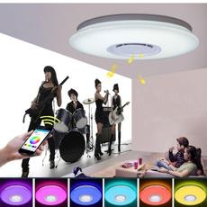 led, Colorful, ceilinglightfixture, Bluetooth