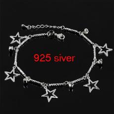 ankletchain, Chain, pentagram, Bracelet