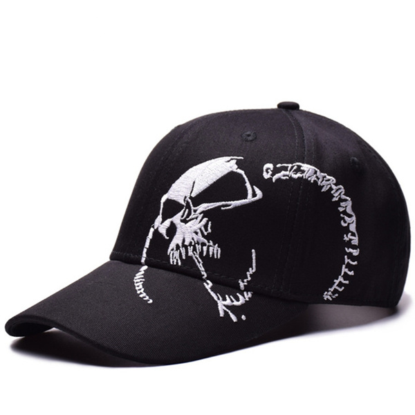 caphat, dadcap, Baseball, skull