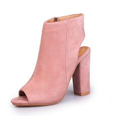 sapato, Boots, Women's Fashion, Peep Toe