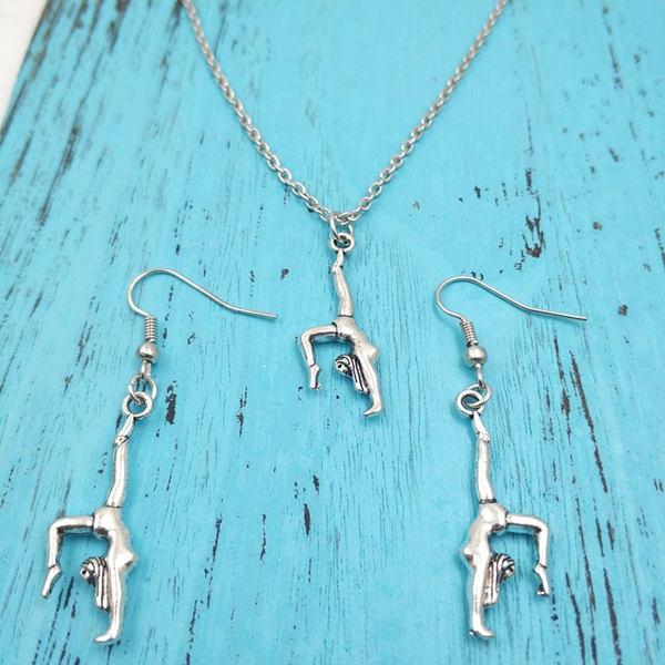 gymnastjewelry, gymnastic, Creative Jewelry Sets, gymnast