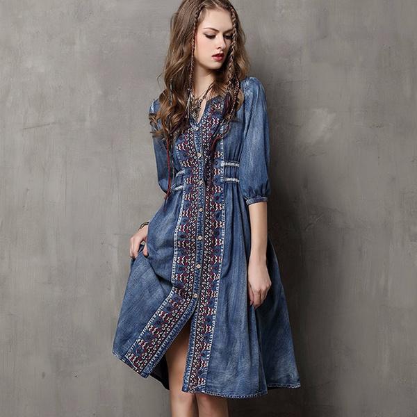 singlebreasteddres, slim dress, cowgirldres, Fashion