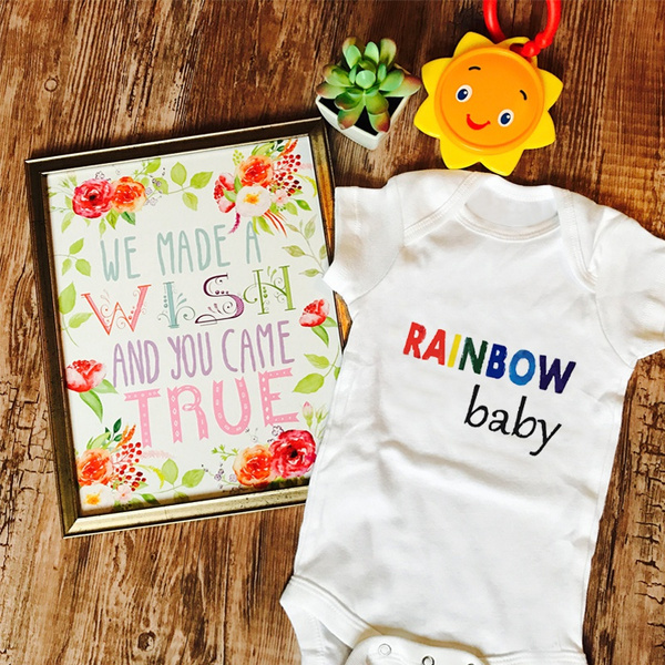 rainbow, Baby Girl, Fashion, babyromper