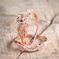 Fashion, wedding ring, gold, 18k gold ring