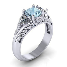 Crystal, crystal ring, wedding ring, Jewellery