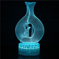 decoration, Table Lamps, Night Light, Colorful