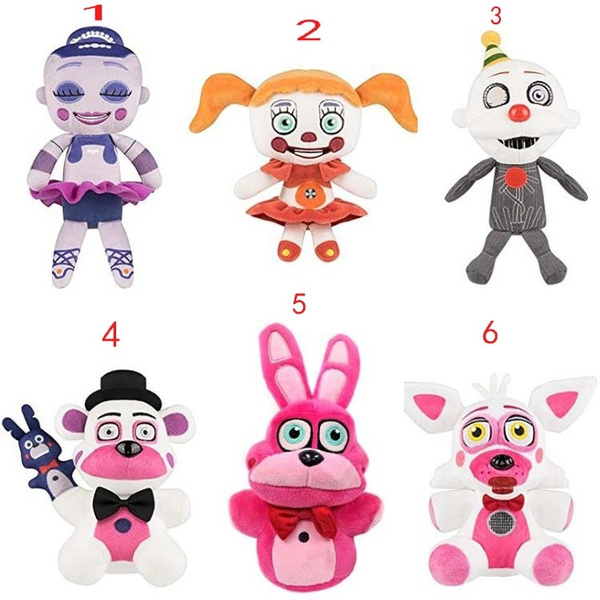 Plush Toys, foxy, fivenightsatfreddysplushbear, funko
