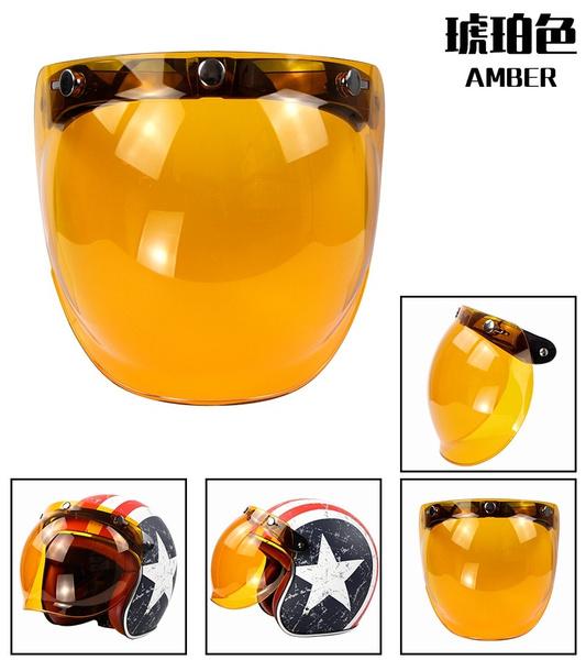 ambercolor, Helmet, bubblevisor, Visors