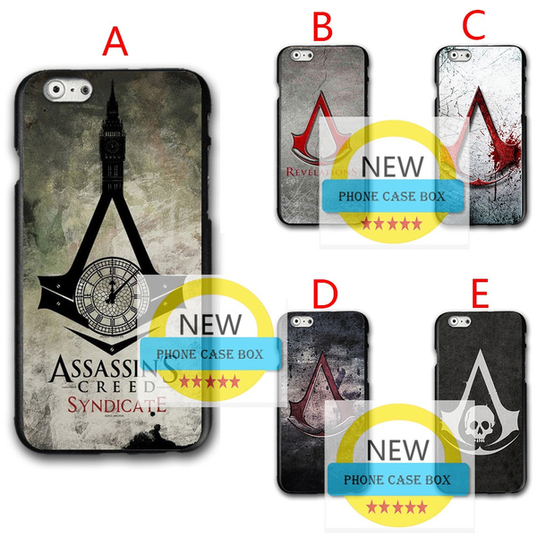 Assassins Creed Iphone 6 6s Case,Designs Assassin's Creed cover for Iphone 7 7plus/Samsung s7 s8/Huawei p8lite phone case   Wish