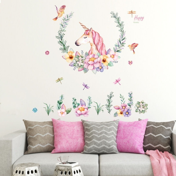 wallstickersampmural, Decor, Flowers, art