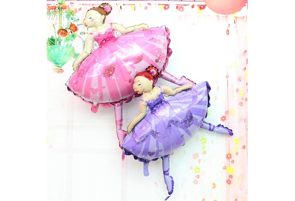 Ballerina Helium Balloon Large Airwalker 104cm 41Inch Party Pink Girl Birthday