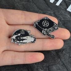 blackmagicball, gothicenamelpin, Pins, witchhandenamelpin