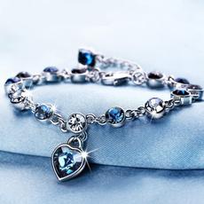 Beautiful, Crystal Bracelet, Jewellery, Heart