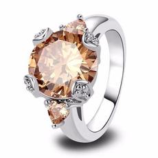 Beautiful, Sterling, Crystal, crystal ring