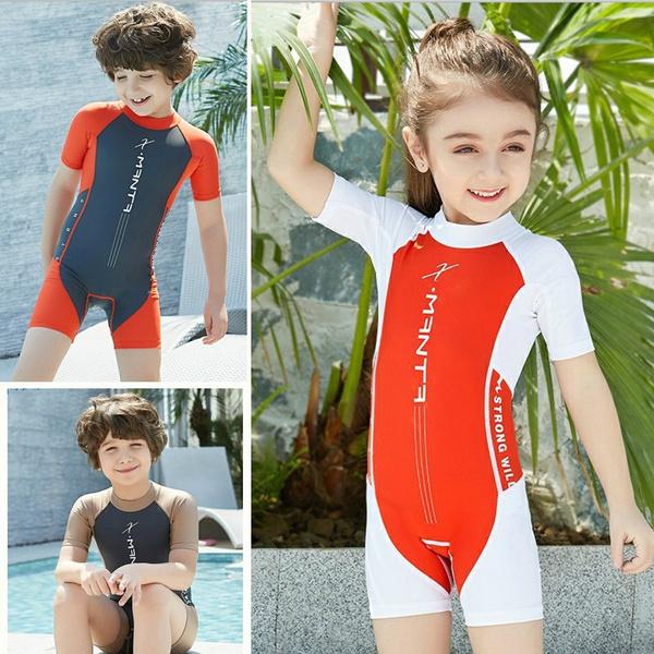 bathing suit, childrenswimsuit, Fashion, divingwetsuit