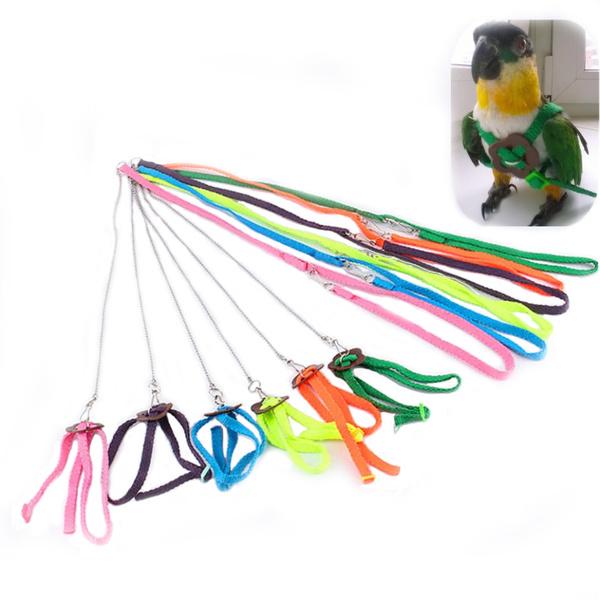 Harness, lightsoftharnes, smalldogharnes, adjustableparrotbirdharnessleash