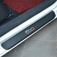 fiat, Car Sticker, Fiber, Door