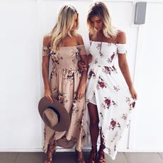 Summer, short sleeve dress, women dresses, Dresses
