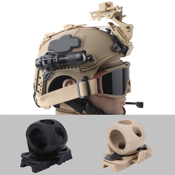 Flashlight, Helmet, flashlightbracket, Sports & Outdoors