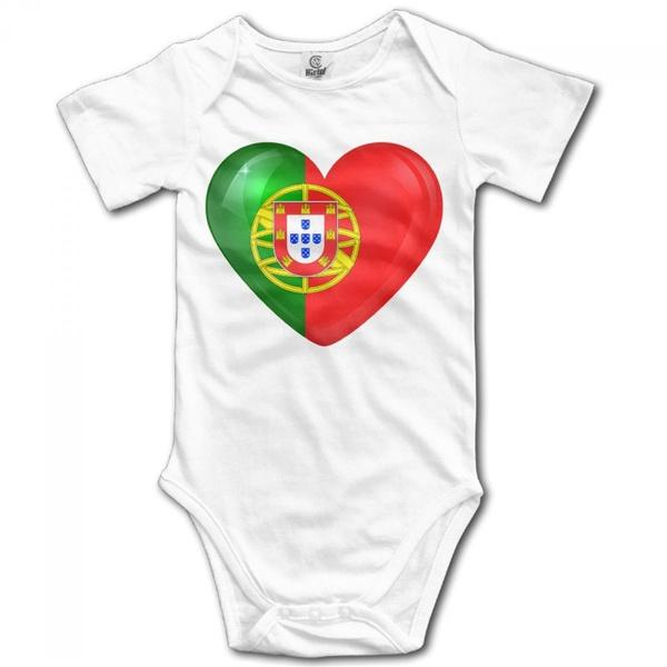 portugalflag, Heart, Fashion, Shirt