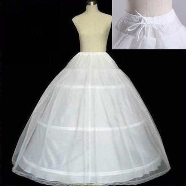 gowns, 3hoop, 3hooppetticoat, white