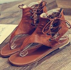 sandalsretro, Sandals & Flip Flops, Plus Size, Women Sandals