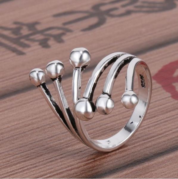wedding ring, 925 silver rings, Silver Ring, Diamond Ring