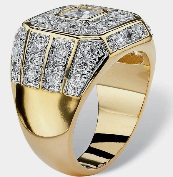Gold Ring, ringsformen, 18k gold, Natural