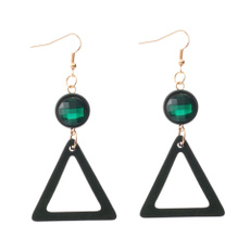 Triangles, Fashion, Dangle Earring, earringforwome