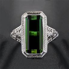 Sterling, Fashion, 925 sterling silver, emeraldring