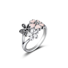 Beautiful, Sterling, crystal ring, Jewellery