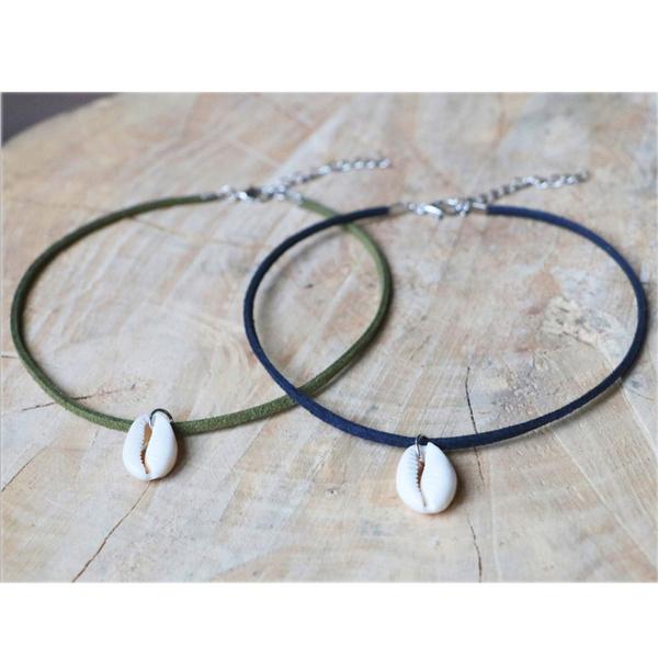 Cowry Kauri shell Cowrie Choker,Sea Shell Necklace Ibiza beach choker Natural seashell pendants Cowry choker Sea shell choker necklace