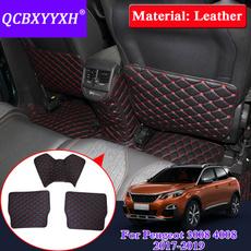 seatbackantikickpad, internaldecorationcover, forpeugeot3008500820172019, PU
