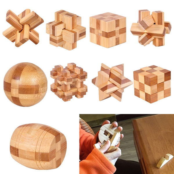 Funny, Toy, kongminglock, Wooden