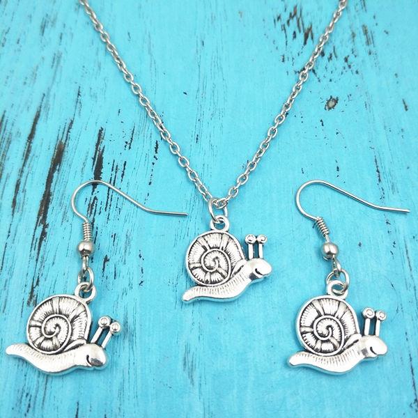 snailnecklace, Jewelry, snail, Creative Jewelry Sets