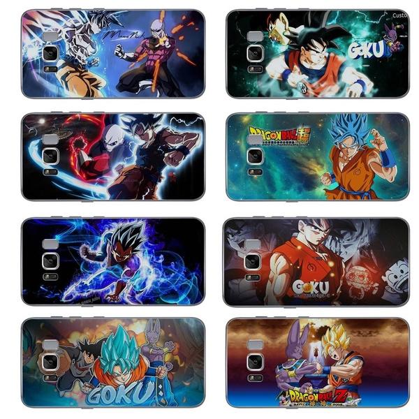 DBZ Goku Gohan Dragon Ball Z Super Saiyan Coque Concha Clear Cell Phone Case for Samsung Galaxy S5 S6 Edge S7 Edge S8 Plus S9 Plus Note 8 | Wish