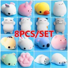 stresstoysforchildren, Mini, phonestrap, rabbit