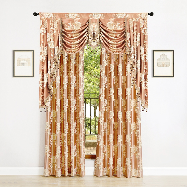 Bedroom Elegant Swag Valance Curtains, Swag Curtains For Living Room