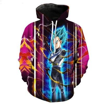 vegeta, 3D hoodies, Fashion, Tops & Blouses