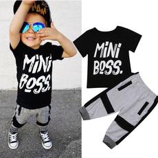 Mini, harem, letter print, toddlerboyclothe