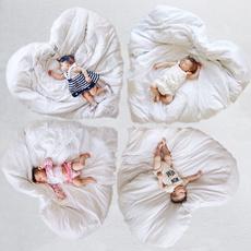 Heart, playmat, Home & Living, babyplaymat