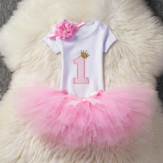 firstbirthday, pink, Baby Girl, cute