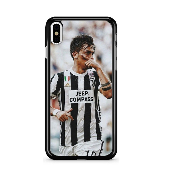 Paulo Dybala Juventus Football Fashion Cell Phone Case Cover for IPhone 4 4S 5 5C 5S 6 6S 6Plus 6SPlus 7 7Plus 8 8Plus X SE for Samsung Galaxy S3 S4 ...