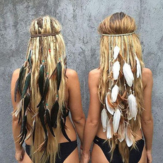 bohemia, Summer, Head, Fashion